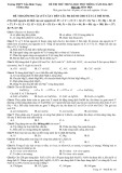 Đề thi thử trung học phổ thông có đáp án môn thi: Hóa học - Trường THPT Trần Bình Trọng (Năm học 2014-2015)