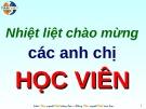 Bài giảng Kỹ năng học qua trải nghiệm (Tâm Việt)