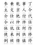 825 Hán tự thông dụng dùng cho người học tiếng Nhật