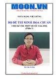 Ebook Bộ đề thi minh họa chuẩn cho kỳ thi THPT quốc gia năm 2016: Phần 1 - GV. Đặng Việt Hùng
