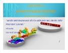 Bài giảng Marketing căn bản - Chương 4: Hành vi khách hàng (Consumer behaviour)