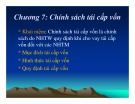 Bài giảng Ngân hàng trung ương: Chương 7 - Học viện Ngân hàng