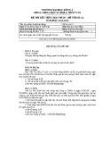 Đề thi kết thúc học phần Luật lao động (năm học 2011-2012): Đề số 2