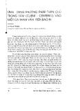 Ứng dụng phương pháp thân chủ trọng tâm (Client - Centered) vào một ca tham vấn trên báo in - Lê Thị Lan Phương