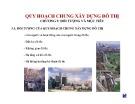 Bài giảng Quy hoạch chung xây dựng đô thị - Chương 5: Đối tượng và mục tiêu