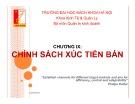 Bài giảng Marketing căn bản: Chương 9 - Phạm Thị Thanh Hương
