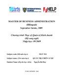 Luận văn tốt nghiệp: Phân tích, đánh giá và đề xuất giải pháp hoàn thiện chiến lược kinh doanh của Công ty Bảo hiểm Châu Á (IAI) giai đoạn 2010-2015