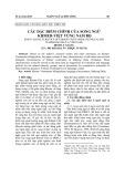 Các đặc điểm chính của song ngữ Khmer-Việt vùng Nam Bộ