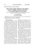 Một số đặc điểm chính của hệ thống luận cứ trong văn bản luật tục của người Ê Đê ở Tây Nguyên