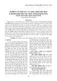 Nghiên cứu thể lực của học sinh tiểu học ở thành phố Thủ Dầu Một, tỉnh Bình Dương