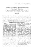Nghiên cứu oxi hóa điện hóa Butanol thành Axit Butanoic