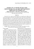 Nghiên cứu lý thuyết về hoạt tính chống oxi hóa của các hợp chất Mangostin chiết xuất từ vỏ măng cụt