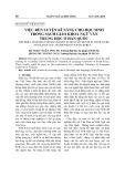 Việc rèn luyện kĩ năng cho học sinh trong sách giáo khoa Ngữ văn trung học ở Hàn Quốc (Tạp chí Ngôn ngữ và đời sống)