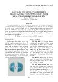 Bước đầu ứng dụng Cyclodextrins trong sản xuất sơn nước có mùi thơm bằng phương pháp Encapsul hóa