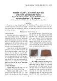Nghiên cứu xử lí bùn đỏ và mụn dừa làm phân bón cho cây trồng