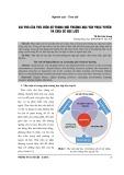 Vai trò của thư viện số trong môi trường học tập trực tuyến và chia sẻ học liệu