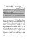 Giải thích và hướng dẫn áp dụng các nguyên tắc thiết lập tiêu đề cho bộ tiêu đề chủ đề tiếng Việt