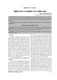Thông tin và nghiên cứu khoa học