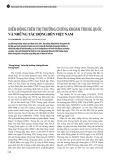 Biến động trên thị trường chứng khoán Trung Quốc và những tác động đến Việt Nam