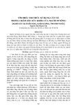 Tìm hiểu tri thức sử dụng cây cỏ trong chăm sóc sức khỏe của người M'nông (nghiên cứu tại xã Đắk Nhau, huyện Bù Đăng, tỉnh Bình Phước)