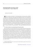 Kế hoạch hóa gia đình - Thực trạng và vấn đề truyền thông dân số ở vùng mỏ Quảng Ninh