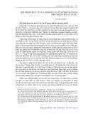 Hội nhập quốc tế của nghiên cứu xã hội ở Việt Nam: Một phân tích và tự sự - Bùi Thế Cường