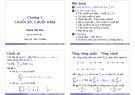 Bài giảng Toán A4: Chương 1 - ThS. Huỳnh Văn Kha