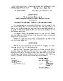 Quyết định số: 193/QĐ-SGDĐT