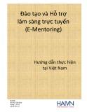 Hướng dẫn thực hiện đào tạo và hỗ trợ lâm sàng trực tuyến tại Việt Nam