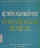 Kiểm toán mới của Việt Nam - Hệ thống các chuẩn mực kế toán: Phần 1
