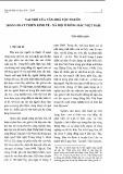 Vai trò của văn hóa tộc người trong phát triển kinh tế, xã hội ở Đông Bắc Việt Nam - Trần Hồng Hạnh