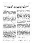Những biến đổi trong đời sống lễ nghi ở làng nghề La Phù, Hoài Đức, Hà Tây - Nguyễn Thị Thanh Bình