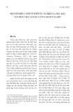 Một số khía cạnh về kinh tế, xã hội của ngư dân ven biển Việt Nam qua tổng quan tài liệu - Lê Ngọc Huynh