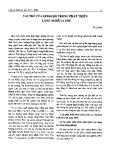 Vai trò của dòng họ trong phát triển làng nghề La Phù