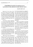 Lễ hội đình Xuân Nung của người Cao Lan tại xã Xuân Lương, huyện Yên Thế, tỉnh Bắc Giang - Nguyễn Thẩm Thu Hà