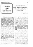 Bàn thêm về di sản trống đồng của Lô Lô - Nguyễn Thị Hảo