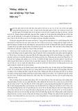 Những nhiệm vụ của xã hội Việt Nam hiện nay - Nguyễn Khánh Toàn