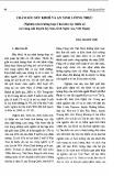 Chăm sóc sức khỏe và an ninh lương thực: Nghiên cứu trường hợp ở hai dân tộc thiểu số tại vùng núi huyện Kỳ Sơn, tỉnh Nghệ An, Việt Nam - Đào Quang Vinh