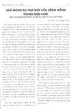 Quà mừng - Sự trợ giúp của cộng đồng trong đám cưới (Nghiên cứu trường hợp thôn Bùi, xã Trịnh Xá, huyện Bình Lục, tỉnh Hà Nam)