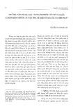 Những vấn đề đặt ra trong nghiên cứu hôn nhân xuyên biên giới ở các tộc người miền núi nước ta hiện nay - Nguyễn Thị Thanh Bình