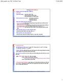 Bài giảng Cơ khí đại cương: Chương 10 - ThS. Vũ Đình Toại