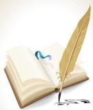 Đề thi chọn học sinh giỏi môn Tiếng Anh lớp 8 năm học 2008–2009 – TP. Bắc Giang