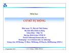 Bài giảng Cơ sở tự động: Chương 3 - TS. Huỳnh Thái Hoàng