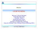 Bài giảng Cơ sở tự động: Chương 4 - TS. Huỳnh Thái Hoàng