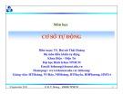 Bài giảng Cơ sở tự động: Chương 5 - TS. Huỳnh Thái Hoàng
