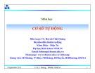 Bài giảng Cơ sở tự động: Chương 9 - TS. Huỳnh Thái Hoàng