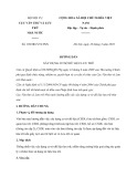 Hướng dẫn số 169/HD-VTLTNN