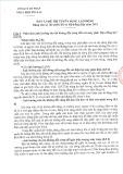 Đáp án đề thi tuyển dụng lao động (năm 2015): Công ty cổ phần nhiệt điện Phả Lại