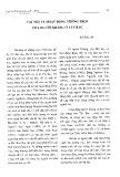 Vài nét về hoạt động trồng trọt của người Kháng ở Tây Bắc - Bùi Bích Lan