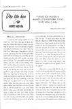 Vấn đề tộc người và nghiên cứu nhân học ở các nước Đông Nam Á - Nguyễn Văn Chính